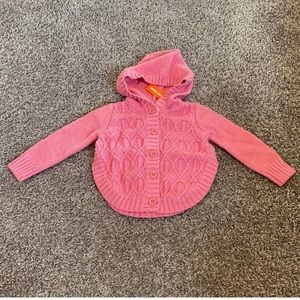 Cable Knit Poncho Size 12-18 Months NWT